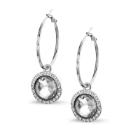 Earring Silver Pina 2,5cm